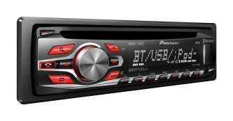 Pioneer DEH-4500BT CD Tuner with Bluetooth  -  IACC1993C