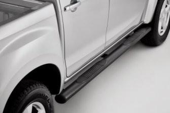 Black Textured Side Bar Steps-IACC2592