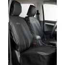 Heavy Duty Vinyl Front Seat Cover Set  -  IACC2730